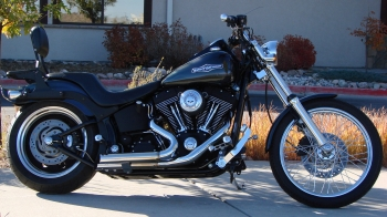 2006 FXSTBI NIGHT TRAIN WITH 30K MILES IN BLACK PEARL